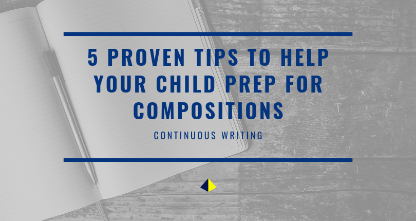 Wondering how to help your child improve in composition writing? Here are 5 tried-and-tested techniques to help your child prepare for primary school / PSLE English – all doable from the convenience of your own home.